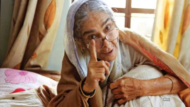 Photo of Surekha Sikri: As an Indian mother, she knew how to live all religions, cultures, languages and customs!