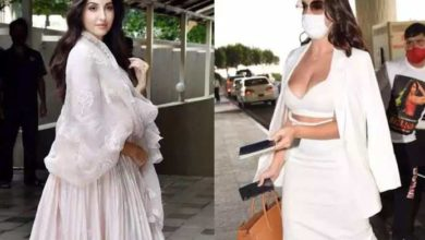 Photo of Nora Fatehi leaves her own 'bold look' behind with a desi look