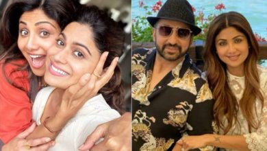 Photo of Sister Shamita supported Shilpa Shetty in her party, Celebs also gave courage