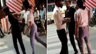 Photo of 'Taxi driver beaten on Nadu road, phone thrown': a case has been registered against the girl