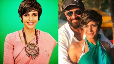 Photo of 1 month after her husband's death, Mandira Bedi started work, friends' happiness