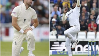 Photo of Siraj and Anderson collide on the field;  India warms up for England series