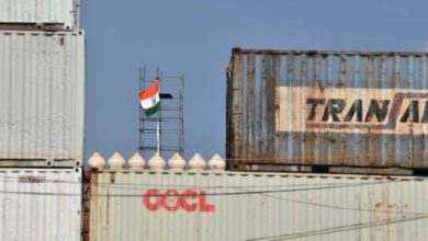 Photo of Huge containers with a huge wall in front of the Red Fort;  Strong security in Delhi on Independence Day