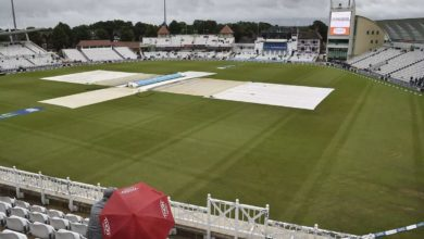 Photo of On the fifth day threatened with rain;  India vs England game delayed