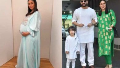 Photo of Kareena Kapoor, who was away from her husband during pregnancy, gave a lot of support to Saif Ali Khan
