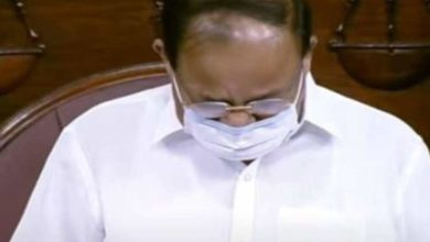 Photo of 'I could not sleep';  Opposition riots;  Vice President emotionally in the House