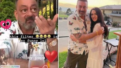 Photo of Sanjay Dutt, who arrived in America to celebrate daughter Trishala's birthday, enjoyed a road trip