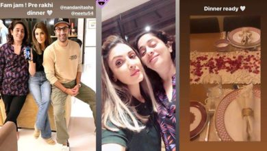 Photo of Ranbir Kapoor celebrated Rakshabandhan with his sister a week ago for dinner at their house