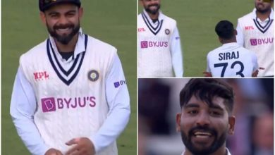 Photo of Rishabh did not believe in dancing and listened to what Siraj had to say;  Virat Kohli did the job!