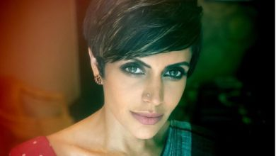 Photo of Mandira Bedi returned to shooting after her husband's death, shared a photo of herself from the set