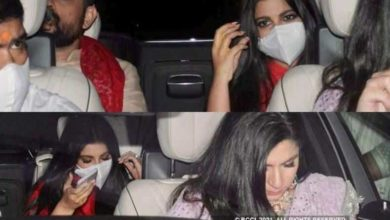 Photo of Video: Anil Kapoor happy with daughter Riya's marriage, distributed sweet packets to media persons