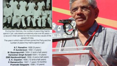 Photo of RSS not only did not participate in the fight for freedom, but also joined the british: Yechury – cpm general secretary sitaram yechury on the rss and the fight for freedom on independence day