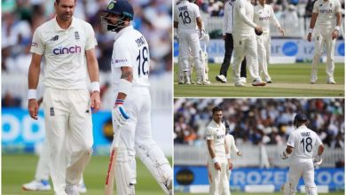 Photo of virat kohli: 'Old man, this is not your backyard';  Kohli Taunts Anderson;  What happened after?  – war of words of indian captain virat kohli and james anderson during the test of lords