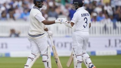Photo of Initially stumbled;  Rahane and Pujara take India by storm