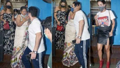 Photo of Former son-in-law Arbaaz is still liked by Malaika's mother, who kissed her goodbye after lunch