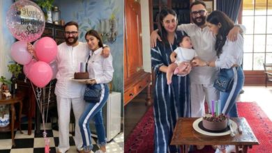Photo of Celebrated with Sara-Saif's birthday, the actress was seen kissing her younger brother in celebration
