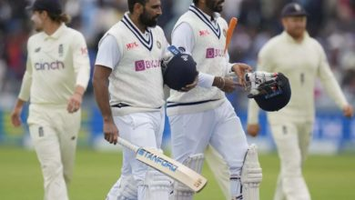 Photo of shami bumrah society: fifty perfect Shami with six, Bumra hit without swearing;  Waltham shines at Lord's!  – Gentlemen's test: Jasprit Bumrah, Mohammed Shami record a record partnership against England