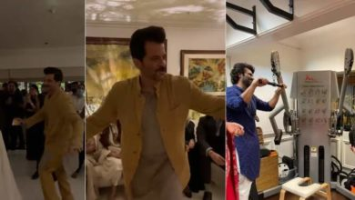 Photo of Right now I am young: Anil Kapoor danced a lot with daughter at the reception, exercised with Arjun at the wedding