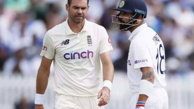 Photo of virat kohli: What happened between Koli and Anderson?  New video released on the fourth day !!  – barmy army publishes virat kohli vs james anderson new video of lords test