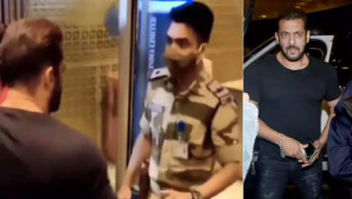 Photo of Salman Khan was entering the airport without security check, CISF officer stopped