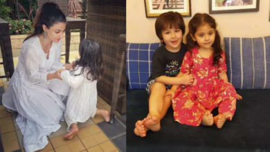 Photo of Inaaya could not live with brother Taimur and Jah, tied these four people.
