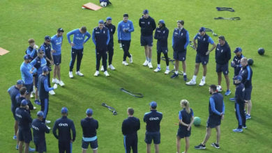 Photo of mark wood: Big setback for England before Test 3;  Main player injured – India vs England: Pacer Mark Wood ruled out due to shoulder injury