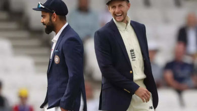 Photo of Indian bat in the Leeds test;  England with two team changes: india vs england third cricket test 1st day live score updates from headerley, leeds