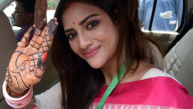 Photo of Little guest reached the house of Lok Sabha MP and actress Nusrat Jahan, gave birth to a son