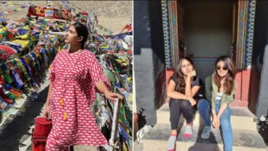 Photo of Sara Ali Khan reached Ladakh to find peace in the open of nature, share beautiful pictures