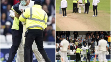 Photo of jarvo 69: He returned, 'Jarvo 69';  When Rohit was out this time, the players were shocked!  – india vs england: pitch invader 'jarvo 69' enters the field after the expulsion of rohit sharma