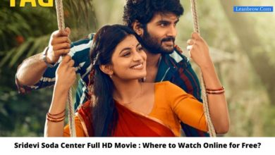 Photo of Sridevi Soda Center Full HD Movie : Where To Watch Online?