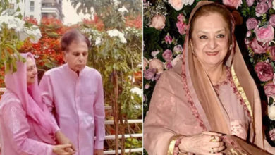 Photo of Saira Banu is hospitalized for 3 days due to unwellness and difficulty in breathing