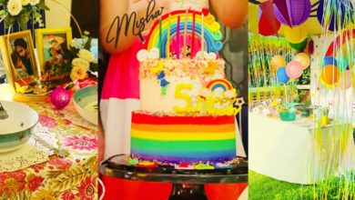 Photo of Mira Rajput decorates the house with colorful lights on her daughter's 5th birthday, Rakhi party