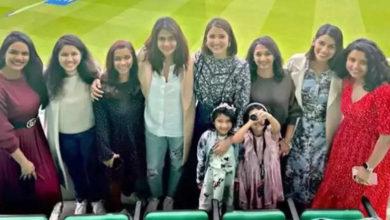 Photo of Anushka Sharma reached the stadium to watch the match, bonded with the wives of Team India cricketers in UK