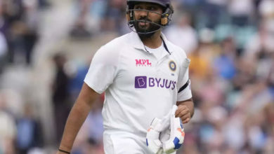 Photo of Rohit Sharma: Rohit Sharma breaks Rahul Dravid's record with a crushing century – oval test: rohit sharma records the most hundreds per Indian batsman in england