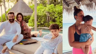 Photo of Kareena-Saif got trolled in the name of sons, said this to the haters