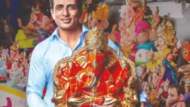 Photo of Sonu Sood, who has been establishing Ganpati in the house for 22 years, said- what will be special this time