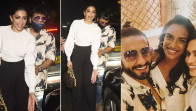 Photo of After dinner, Ranveer-Deepika's eyes hanging on something outside the restaurant, repeatedly telling the photographers