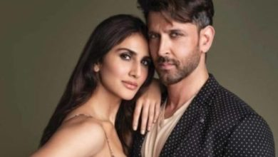 """Photo of Vaani Kapoor said, """"I will always be associated with Hrithik Roshan."""""""