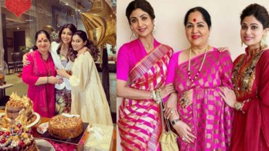 Photo of Sunanda Shetty looks beautiful even at this age, compared with daughters Shilpa and Shamita