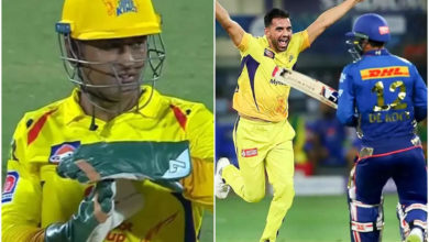 Photo of ms dhoni: Dhoni cannot pass the review system;  Captain Cool Surprises Mumbai – Video !!  – mi vs csk: ms dhoni's brilliant call from drs to fire quinton de cock