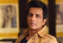 """Photo of Responding to a question from IT officials, Sonu Sood said, """"They are happy with my work."""""""