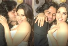 Photo of Who is 'Mystery Boy' to be seen opposite Jhanvi Kapoor?  They were seen hugging and kissing