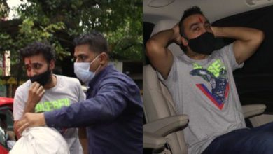 Photo of Raj Kundra cried as soon as he came out of jail, Shilpa Shetty sent new clothes from home