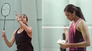Photo of Deepika Padukone is playing badminton with Sindhu, such things started happening