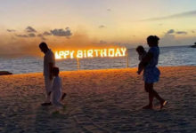 Photo of Kareena Kapoor celebrates her 41st birthday with her husband and sons, a promise they made