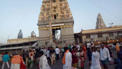Photo of Mahadeshwara male temple: 108 foot tall temple statue;  Criticism of the threat of nature – karnataka lord male mahadeshwara temple statue mm hills activists oppose