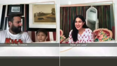 Photo of Taimur intervened again in Saif's interview, seeing Didi Sara at the other end, such a glow on his face