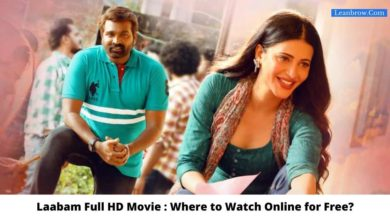Photo of Laabam Full HD Movie : Where To Watch Online?