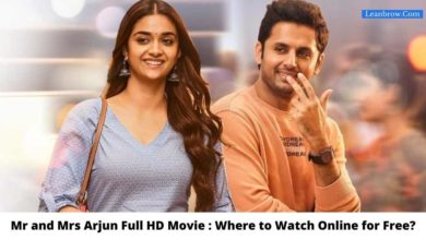 Photo of Mr and Mrs Arjun Full HD Movie : Where To Watch Online?